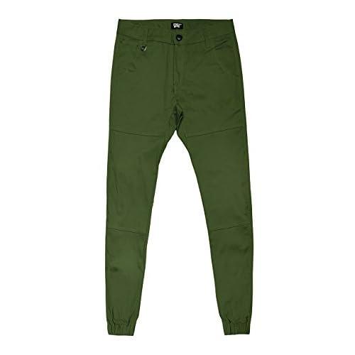 af4dab5df5 70% de descuento Italy Morn Hombres Chinos pantalones casuales pantalones  de color caqui sarga de
