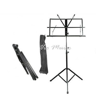 Vio Music Two Section Folding Music Stand with Carrying Bag