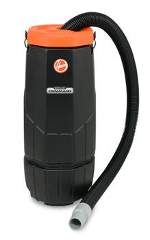 Hoover CH85000 Ground Command Commercial 10-Quart Backpack Vacuum with 2-Stage Motor 2 Stage Industrial Vacuum
