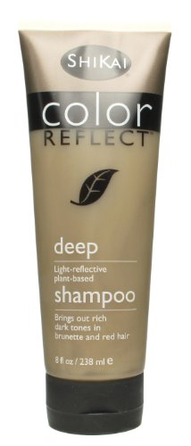 Shikai Color Reflect Deep Shampoo, 8-Ounce Tubes (Pack of 3)