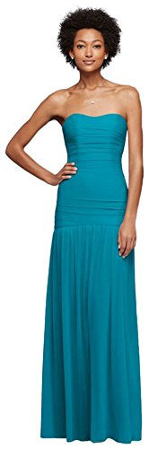 oasis color bridesmaid dresses - 3