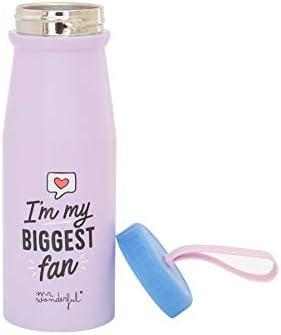 Mr Taglia Unica Multicolore Wonderful Bottle-Im My Biggest Fan