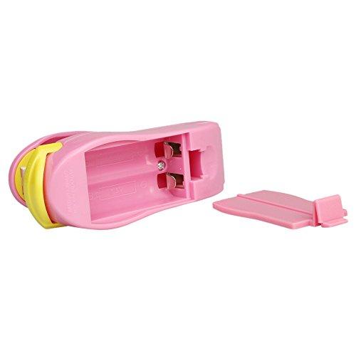 Clacce Mini niedlichen Mund Maschine, Mini Beutel Versiegelungsmaschine mit Messer, Küche manuelle Versiegelungsmaschine, Plastiktüte Einkaufstüte Fast Food Konservierungsbeutel Versiegelungsmaschine