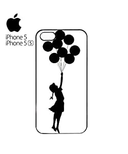Banksy Balloon Girl Mobile Cell Phone Case Cover iPhone 5&5s Black