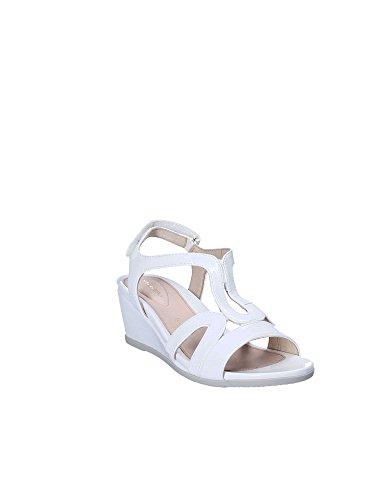 Con Donna Stonefly 8 Bianco Caviglia Cinturino Alla Patent Scarpe Sweet Iii XwAwqP4