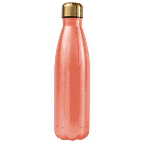 Karma Gifts Stainless Steel Water Bottle, Coral