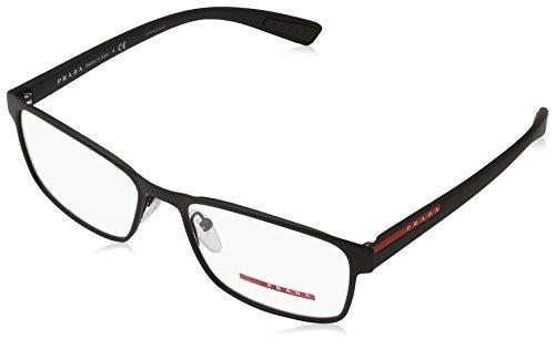 Prada PS50GV Eyeglass Frames DG01O1-55 - Black - Glasses Prada Mens