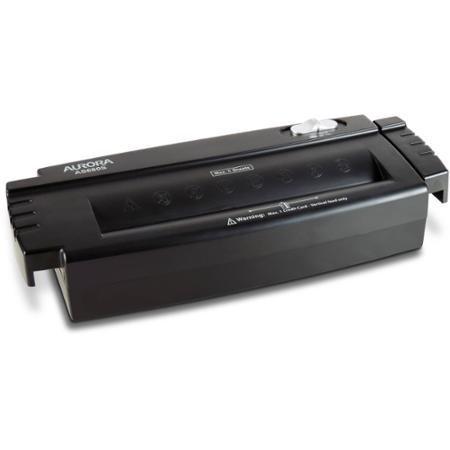 aurora 6 sheet strip cut papercredit card shredder without wastebasket - Home Shredders