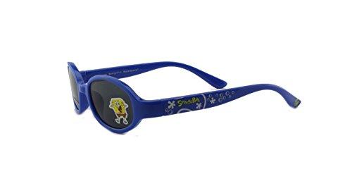 New Authentic Nickelodeon Sponge Bob SB27 Blue Infants Sunglasses 41mm -
