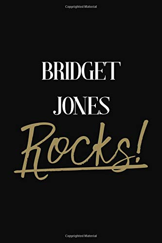 Bridget Jones Rocks   Bridget Jones Diary Journal Notebook