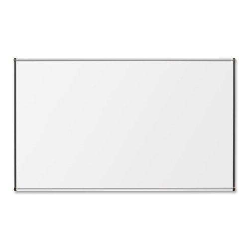 Lorell Porcelain Marker Boards-Porcelain Board, 4'x6', Satin Aluminum Frame