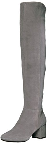 Cole Haan Women's New Stretch OTK Boot, Stormcloud, 7 B US (Suede Boots High)