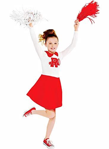 HalloCostume Girls Rydell High Cheerleader Dress - Grease, Halloween Costumes for Girls