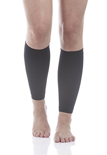 46fe029ff9 Calf Compression Running Sleeves (Black Medium) 1 pair * Great for Shin  Splint and