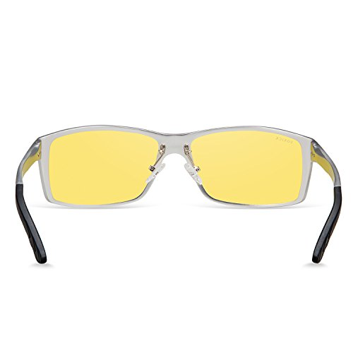 Vision Polarized Night Driving Glasses Men Women Outdoor Anti Glare Sunglasses Sliver 888