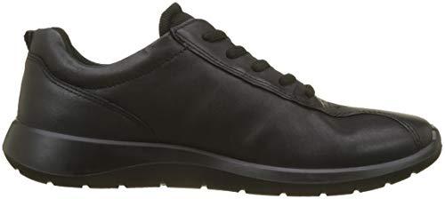 Noir 5 Baskets black Soft Ecco 1001 Femme wqH8Ic75