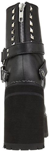 Nero 101 Vegan Demonia Stivali Anfibi Assault Leather Blk w5BnIqvxzn