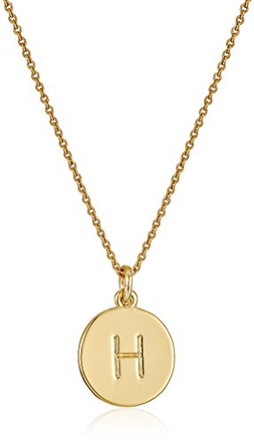 kate spade new york Kate Spade Pendants H Pendant Necklace, 17 + 3.5 Extender