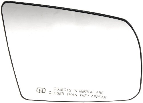Dorman 56497 Toyota Passenger Side Heated Plastic Backed Door Mirror Glass