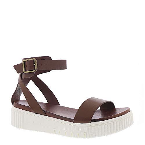MIA Womens Lunna Sandal Cognac, 10 M ()