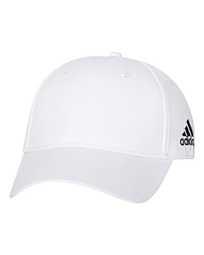 adidas - Core Performance Max Structured Cap - A600 - One Size - White A600 OS (Adidas T-shirt Cap)