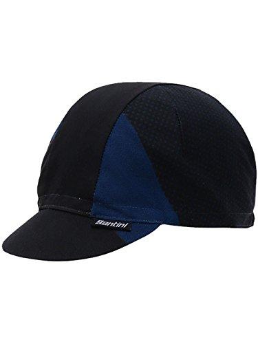 Santini Blue 365 Cotton Cycling Cap (Default, Navy) ()