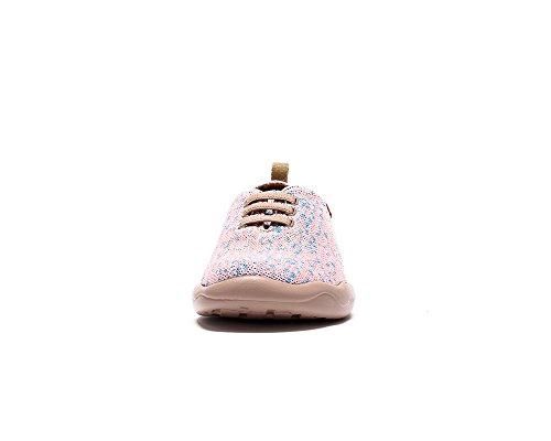 UIN Moguer Gestrickte Loafer Schuhe Damen Pink