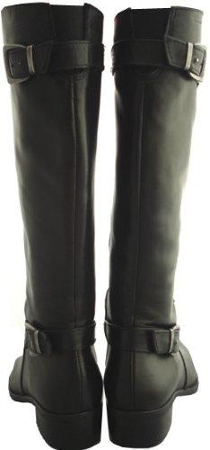 Tamaris - Botas para mujer Multicolor negro/marrón negro - negro