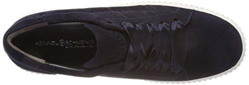 Kennel En Schmenger Dames Down Sneaker Blauw (oceaan Zool Wit)