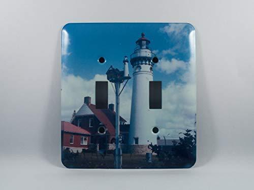 Lightswitch Plate, Seul Choix Michigan Lighthouse Design