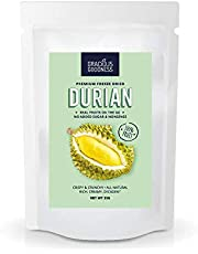 Gracious Goodness Freeze Dried Durian – No Added Sugar x3packs
