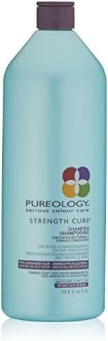 Pureology Strength Cure Sulfate Free Shampoo, 33.8 Fl. Oz