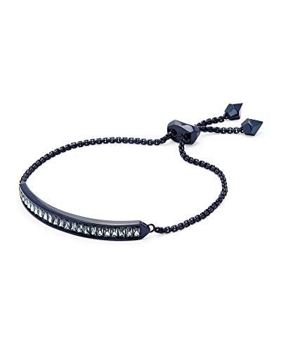 Kendra Scott Jack Navy Gunmetal Chain Bracelet in Indigo Crystal