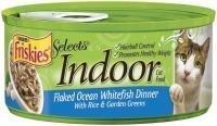 Friskies Indoor Flaked Ocean Whitefish Dinner Canned Cat Foo