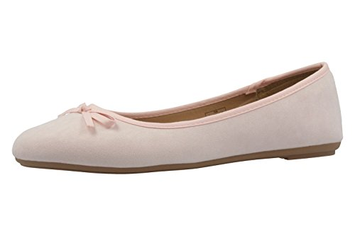 Au Femme Ballerine Fitters Helen Tourne Son Ballerines Rose FYHTYCxqw