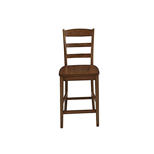 Oak Traditional Bar Stools (Home Styles 5006-88 Monarch Counter Stool, Oak Finish)
