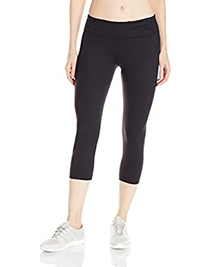 Calvin Klein Women's Crop Tight with Leg and Front Panel Waistband