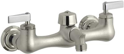 KOHLER K-8905-RP Knoxford Service Sink Faucet, Rough Plate