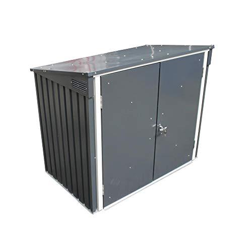 - DuraMax 5 x 3 Metal Trash Bin Lean-To Shed Kit