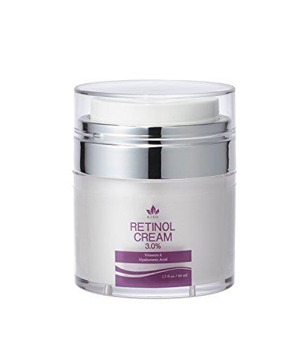 KisoCare 3.0% Retinol Moisturizer Cream for Face with Hyaluronic Acid & Vitamin E 1.7 fl. oz.