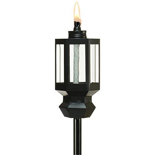 Tiki Brand 65-Inch Beacon Metal Torch, Black by Tiki