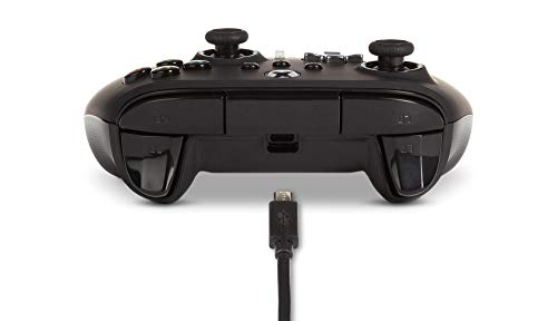 PowerA Enhanced Wired Controller for Xbox - Black, Gamepad, Wired Video Game Controller, Gaming Controller, Xbox Series X|S, Xbox One - Xbox Series X