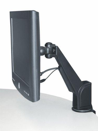 Exponent Befestigungskit (Gelenkarm) für Monitor - Schwarz - Wandmontage möglich, auf dem Tisch