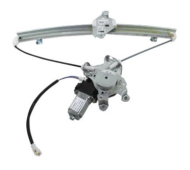 TYC 660153 Mitsubishi Lancer Front Passenger Side Replacement Power Window Regulator Assembly with Motor