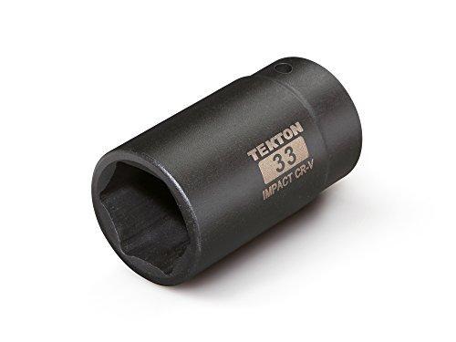 TEKTON 4943 1/2-Inch Drive by 33 mm Deep Impact Socket 6-Point [並行輸入品] B078XL22SP