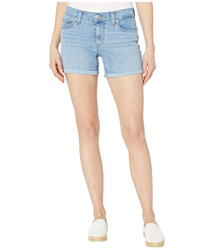 Levi's Women's Mid Length Shorts Shorts, -Oahu Clouds, 30 (US 10)
