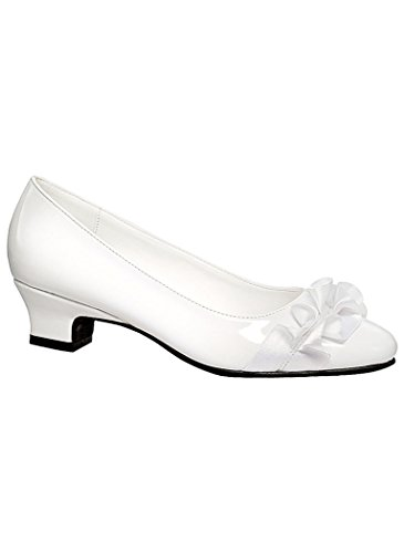 Womens Adult Valley Lane Jenny synthetic Pumps Shoes Complements Exclusives White it0QHK9h