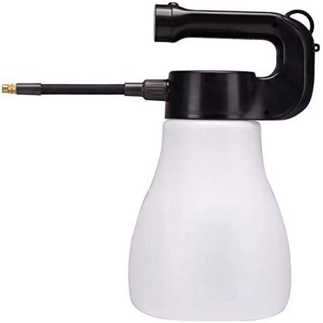 HTL Botella de Pulverizador Eléctrico Portátil de Gran Capacidad 3000Ml Neblina Boquilla Pulverizador Botella Regadera Canica Herramientas de Extensión Barra de Extensión Ajuste de la Boquilla,Blanco