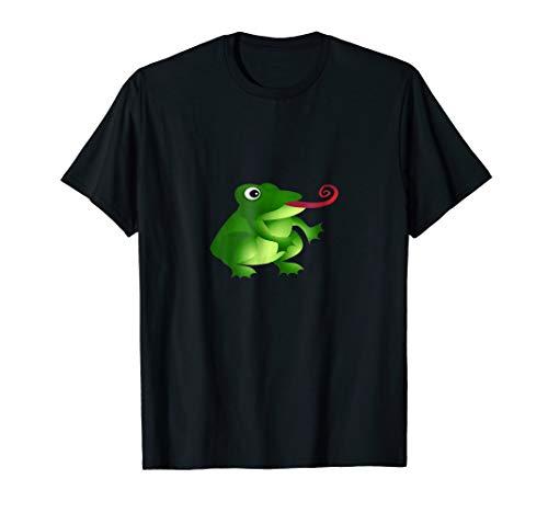 (Tree Frog T-Shirt Amphibian Big eyed Toad fun youth childs)