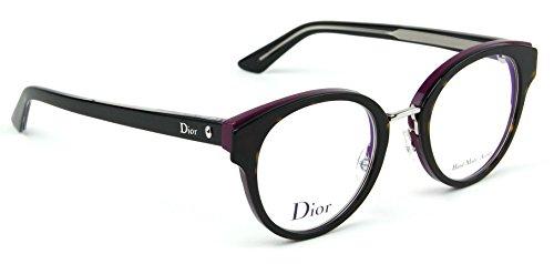 4983df4b8 Dior Montaigne 7 Eyeglasses Havana Lilac Black Frame 48mm (0GAF):  Amazon.ca: Clothing & Accessories